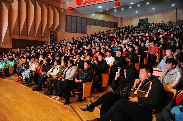 雅艺术进校园 齐齐哈尔大学民族管弦乐团走进佳木斯大学 佳职院
